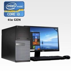 Dell Optiplex 3020 Mini Torre Core i3 4ta. Gen. 8GB RAM, 500GB HDD