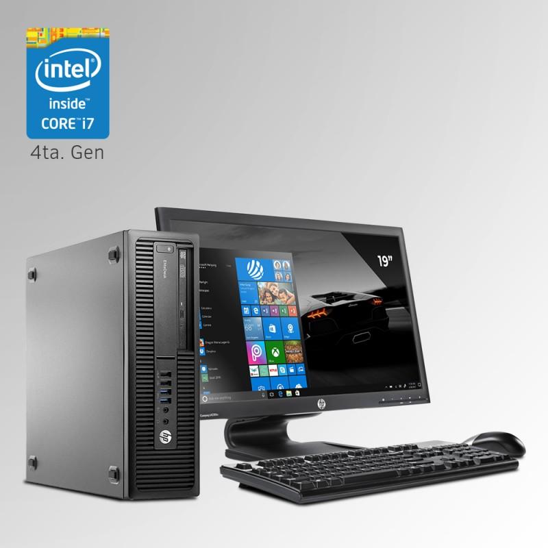 HP ProDesk 800 G1 Desktop Core i7 4ta. Gen. 16GB RAM DDR3, 500GB HDD