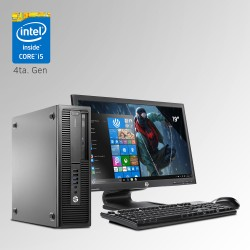 HP ProDesk 800 G1 Desktop Core i5 4ta. Gen, 8GB RAM DDR3, 500GB HDD