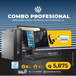 Combo Profesional 2 - HP Prodesk 600 G2 Desktop Core i7 6ta. Gen.  8GB RAM DDR4, 1TB HDD