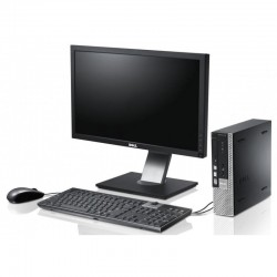 Dell Optiplex 780 Ultra Slim Core 2 Duo, 2GB RAM DDR3, 160GB HDD