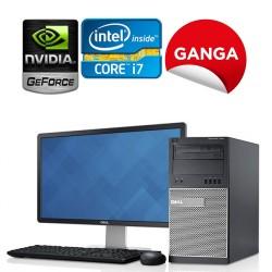 Dell Optiplex 990 Torre Core i7, 16GB RAM, 240GB Unidad de Estado Solido, 2GB Video Nvidia