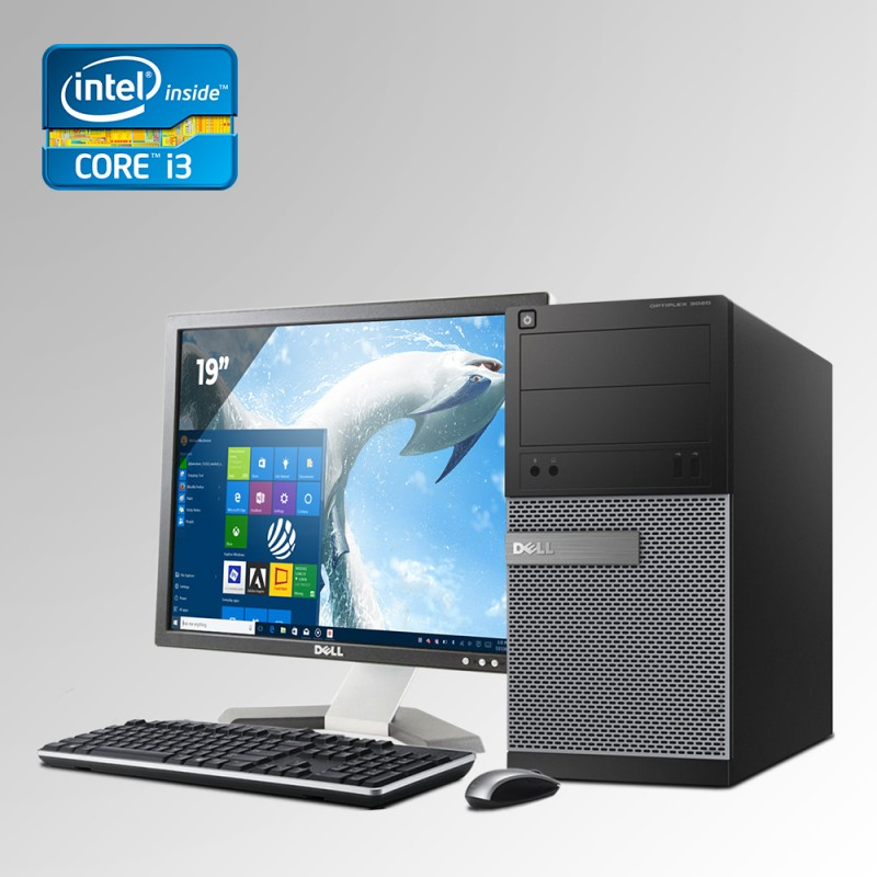 Dell Optiplex 790 Torre Core i3 2da. Gen. 4GB RAM DDR3, 250GB HDD