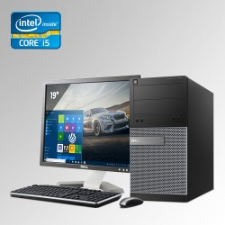 Dell Optiplex 390 Mini Torre Core i5  2da. Gen. 4GB RAM DDR3, 250GB HDD