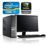 Dell Optiplex 390/790 Desktop i7, 8GB RAM DDR3, 500GB HDD, 1GB Video Nvidia