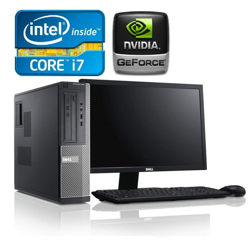 Dell Optiplex 390/790 Slim i7, 8GB RAM, 500GB HDD, 2GB Video Nvidia