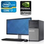 Dell Optiplex 790 Torre Core i7, 16GB RAM, 240GB Unidad de Estado Solido, 2GB Video Nvidia