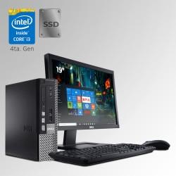 Dell Optiplex 9020 U. Slim Core i3 4ta. Gen. 4GB RAM DDR3, 128GB SSD