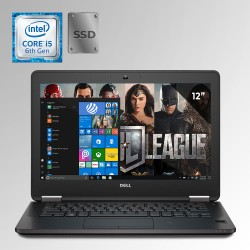 """Dell Latitude E7270, Core i5 6ta. Gen. Pantalla 12"""", 8GB RAM, 240GB SSD"""