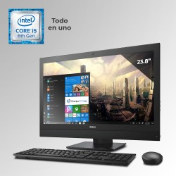 "Dell Optiplex 7440 Todo En Uno Core i5 6ta. Gen. Pantalla 23"", 8GB RAM DDR4, 500GB HDD"