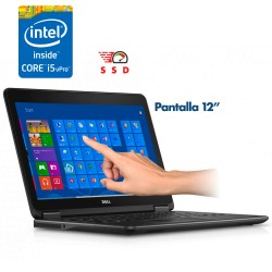 """Dell Latitude E7240 Core i5 4ta. Gen. Pantalla 12"""" Touch, 8GB RAM, 256GB SSD"""