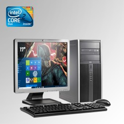 HP Elite Pro 6000 Torre Core 2 Duo, 4GB RAM, 250GB HDD