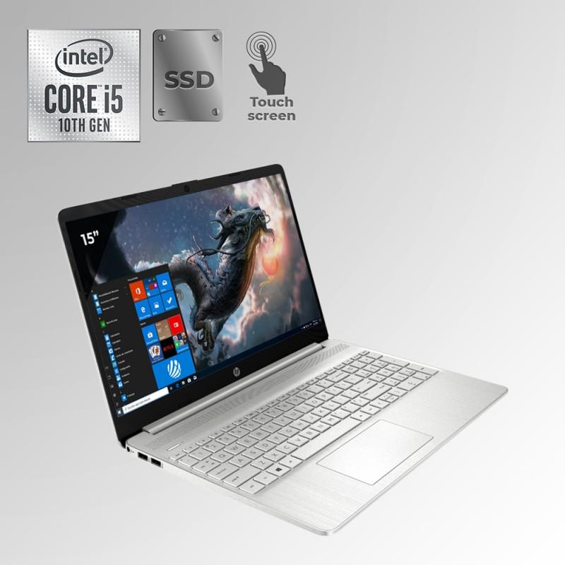 "HP 15-DY1043DX Core i5, 10ma. Gen. Pantalla 15"" Touch,  12GB RAM, 256GB SSD"