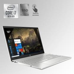 "HP Pavilion 15T-C3076 Core i7, 10ma. Gen, Pantalla 15"" Touch, 8GB RAM, 512GB SSD"