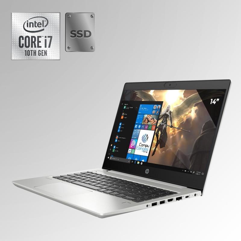 "HP Probook 440 Core i7 10ma. Gen. Pantalla 14"", 8GB RAM, 256GB SSD"