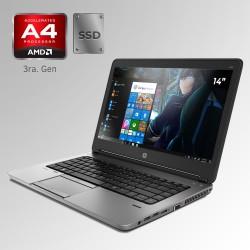 """HP Probook 6465B, AMD A4 3ra. Gen. Pantalla 14"""", 4GB  RAM, 128GB SSD"""