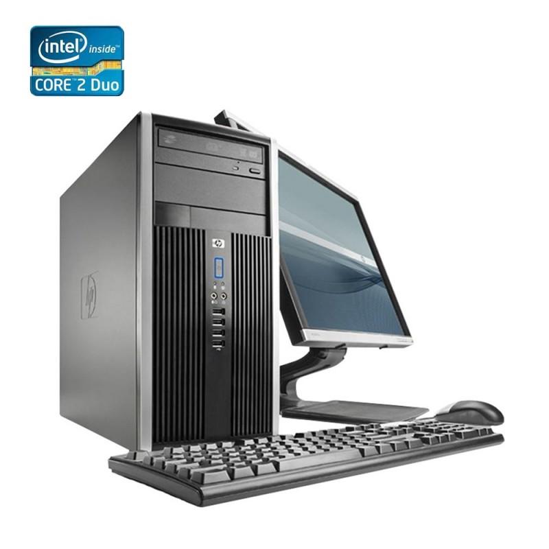HP Elite Pro 6000 Torre Core 2 Duo, 4GB RAM, 160GB HDD