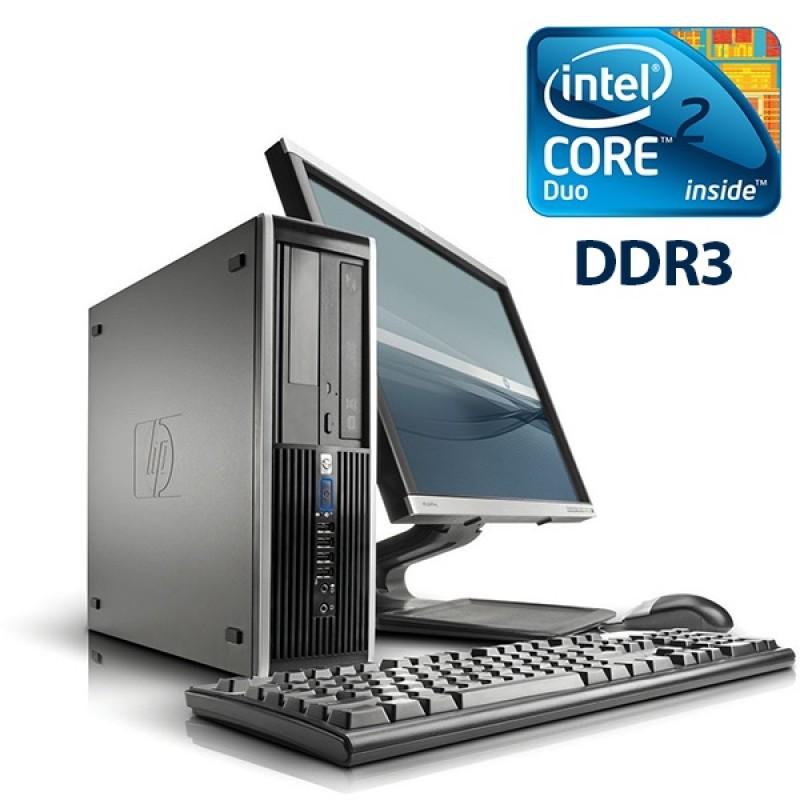 HP Elite Pro 6000 Desktop Core 2 Duo, 4GB RAM, 250GB HDD