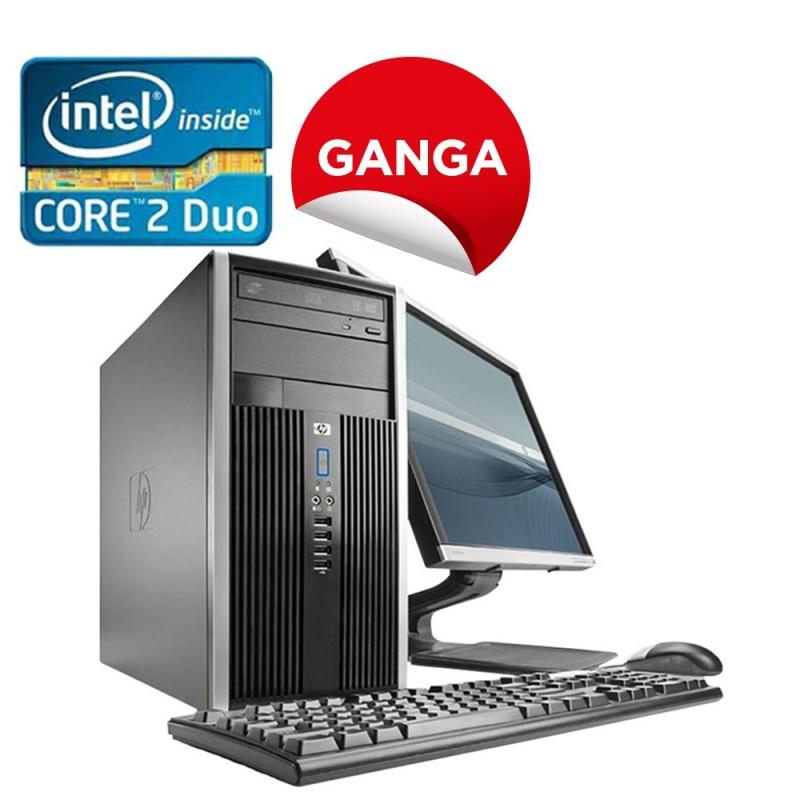 HP Elite Pro 6000/8000 Torre Core 2 Duo, 4GB RAM, 160GB HDD