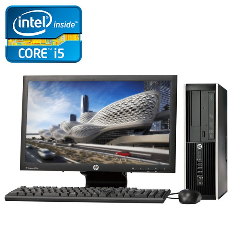 HP Elite Pro 6200 Desktop Core i5 2da. Gen. 4GB RAM DDR3, 250GB HDD