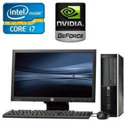 HP Elite Pro 6200 Desktop Core i7 2da. Gen. 8GB RAM DDR3, 500GB HDD, 2GB Video Nvidia