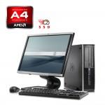 HP 6305 Desktop AMD A4, 4GB RAM DDR3, 120GB SSD