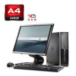 HP 6305 Desktop AMD A4, 4GB RAM DDR3, 120GB SSD