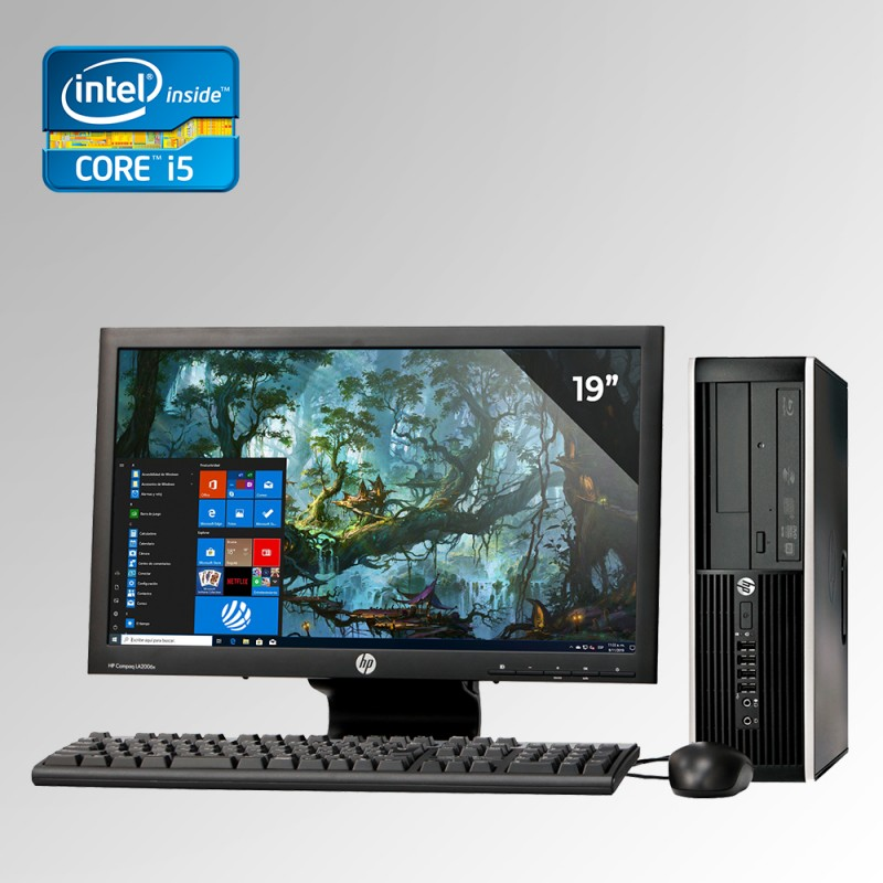 HP Elite Pro 6300 Desktop Core i5 3ra. Gen, 4GB RAM DDR3, 250GB HDD