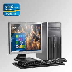 HP Elite Pro 6300 Torre Core i3 3ra. Gen, 4GB RAM DDR3, 250GB HDD