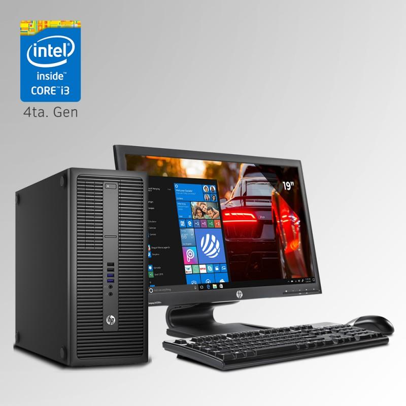 HP ProDesk 600 G1 Torre Core i3 4ta. Gen, 8GB RAM DDR3, 500GB HDD