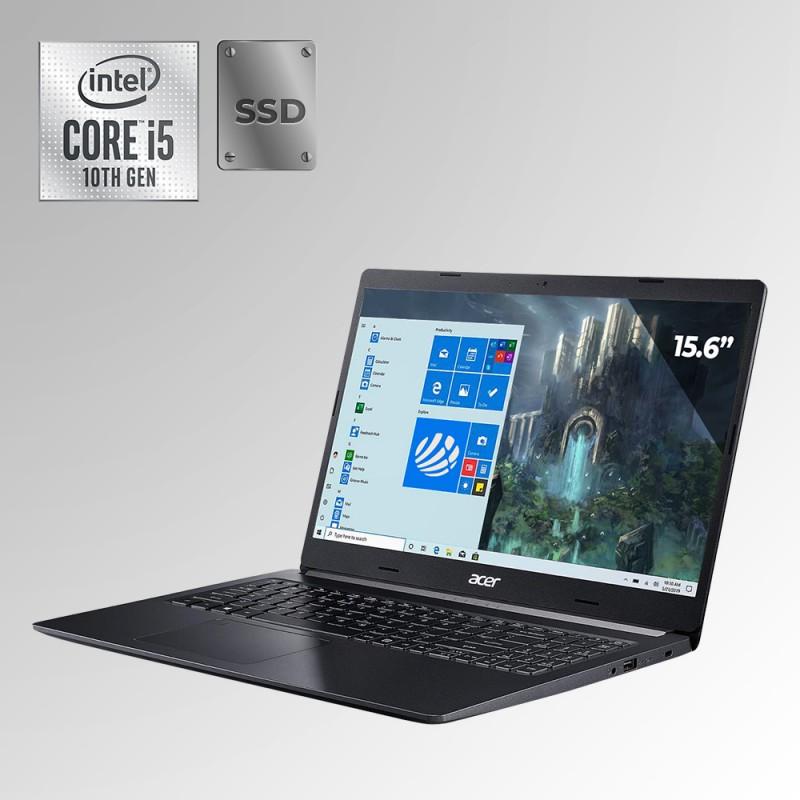 "Acer Aspire 5, Core i5 10ma. Gen. Pantalla 15.6"", 8GB RAM, 256GB SSD"