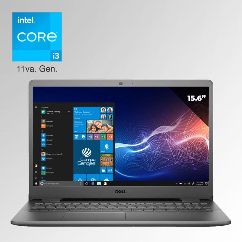 "Dell Inspiron 3000, Core i3 11va. Gen. Pantalla 15.6"", 4GB RAM, 128GB SSD"