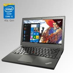 """Lenovo Thinkpad X240, Core i5 4ta. Gen. Pantalla 12.5"""", 8GB RAM, 500GB HDD"""