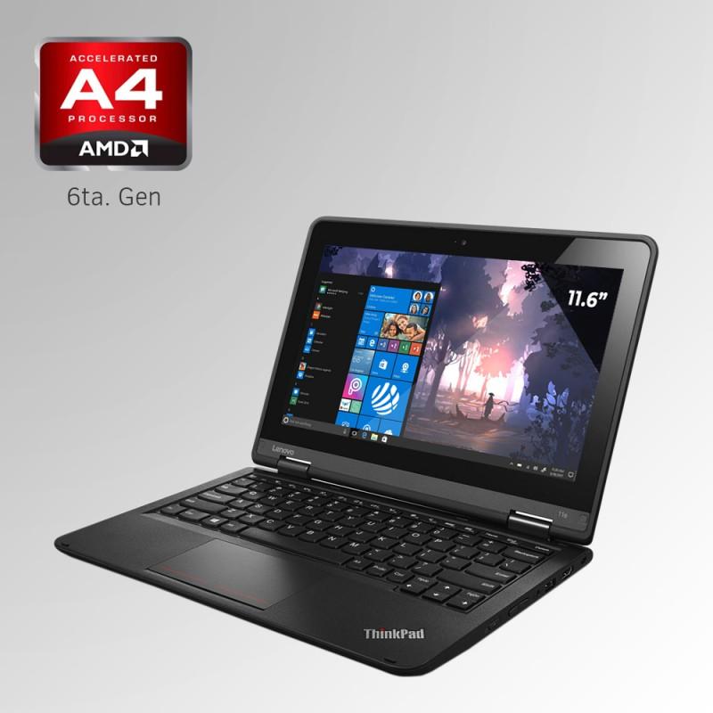 "Lenovo ThinkPad 11E, AMD A4 6ta. Gen. Pantalla 11"", 4GB RAM, 500GB HDD"