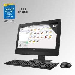 """Dell Optiplex 3030 Todo En Uno Core i3 4ta. Gen. Pantalla 19"""", 4GB RAM DDR3L, 500GB HDD"""