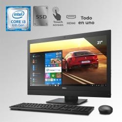 "Dell Optiplex 3240 Todo En Uno Core i3 6ta. Gen. Pantalla 21.5"" Touch, 12GB RAM DDR3L, 256GB SSD"