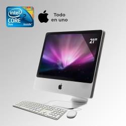 "iMac Early Core 2 Duo Pantalla 24"", 8GB RAM DDR3, 750GB HDD"